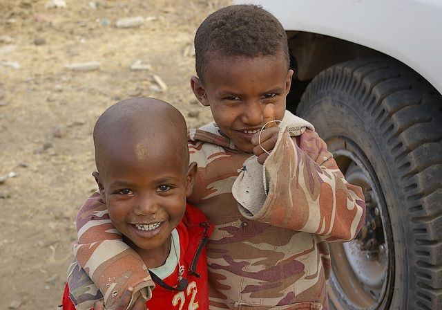 Zdjęcia: Axum, Północna - środkowa Etiopia, Grunt to optymizm, ETIOPIA
