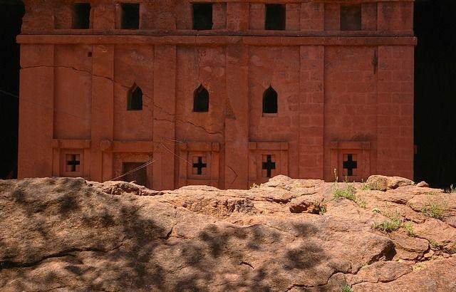 Zdjęcia: Lalibela, Północna - środkowa Etiopia, Kościół Biete Emanuel, ETIOPIA