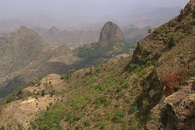 Zdjęcia: Siemen Mountains, Północna Etiopia, Góry Siemen piękne są, ETIOPIA