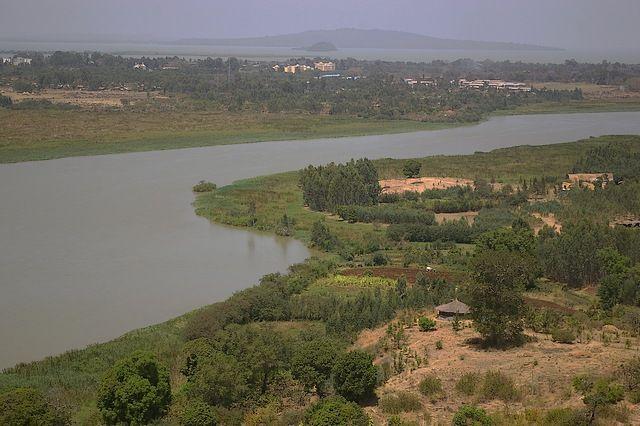 Zdjęcia: gdzieś po drodze, Północna Etiopia, Nil Błękitny i widok na największe etiopskie jezioro Tana, ETIOPIA