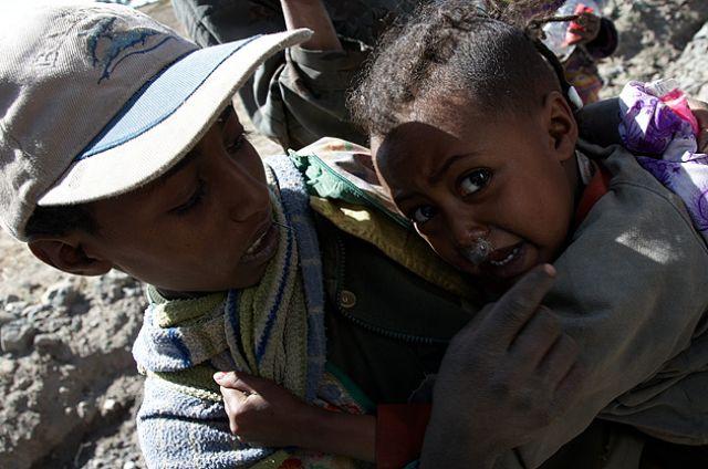 Zdjęcia: Okolice Kombolchy, Północna Etiopia, LALIBELA - KOMBOLCHA - ADIS ABEBA, ETIOPIA