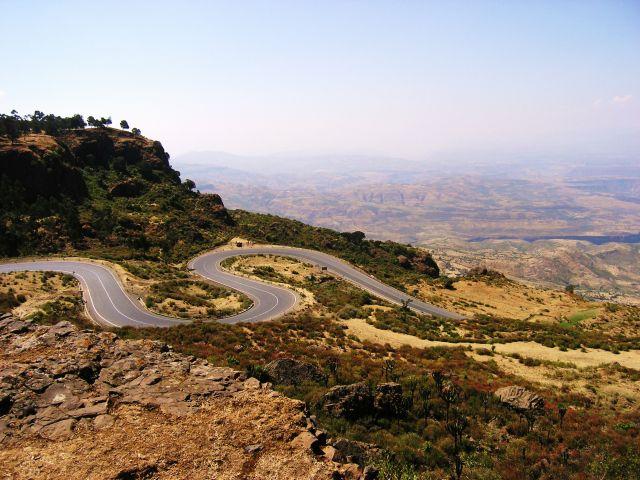 Zdjęcia: Tekeze Gore, W górzch Tekeze Gore, ETIOPIA