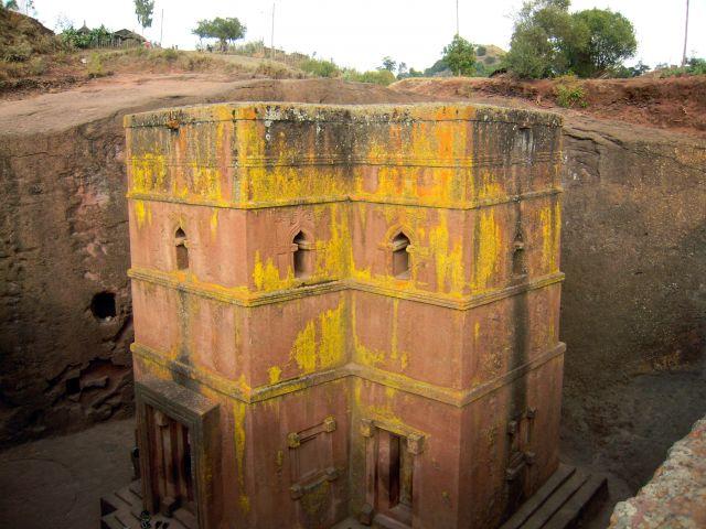 Zdjęcia: Lalibela, pn. Etiopia, Bet Giyorgis - Kościół Św.Jerzego, ETIOPIA