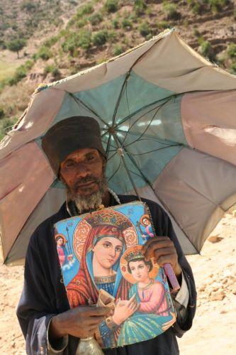 """Zdjęcia: górskie bezdroża, """"Zbieram na budowe nowego Kościoła..."""", ETIOPIA"""