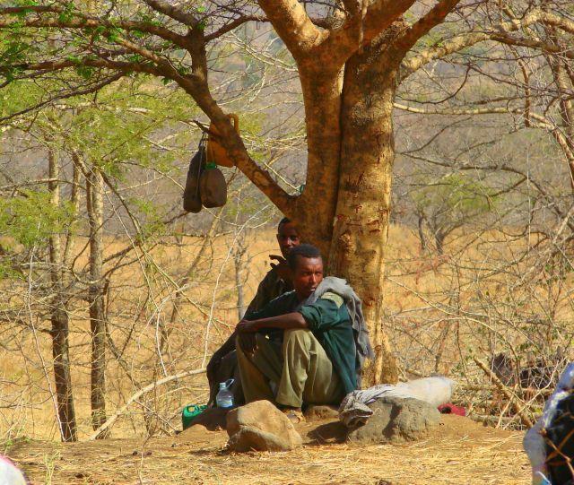 Zdjęcia: Etiopia, Etiopia, Czekając na  transport, ETIOPIA