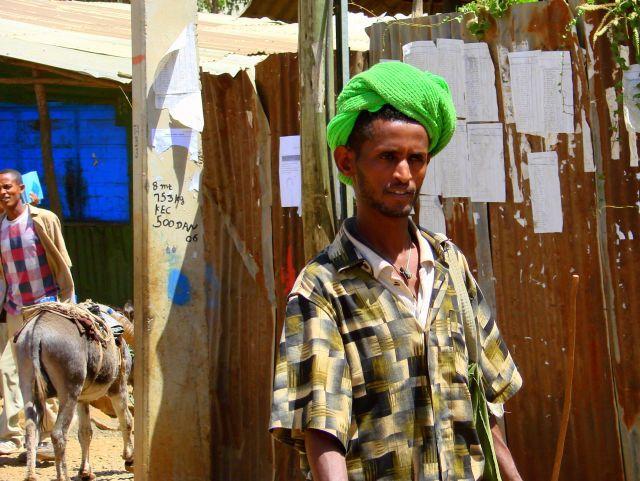 Zdjęcia: Etiopia, Etiopia, Zielone  nakrycie, ETIOPIA