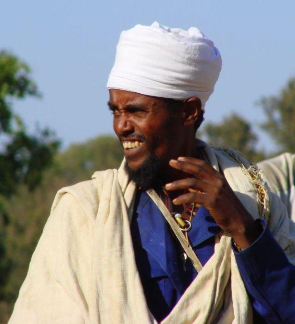 Zdjęcia: Etiopia, Etiopia, Ksiądz, ETIOPIA