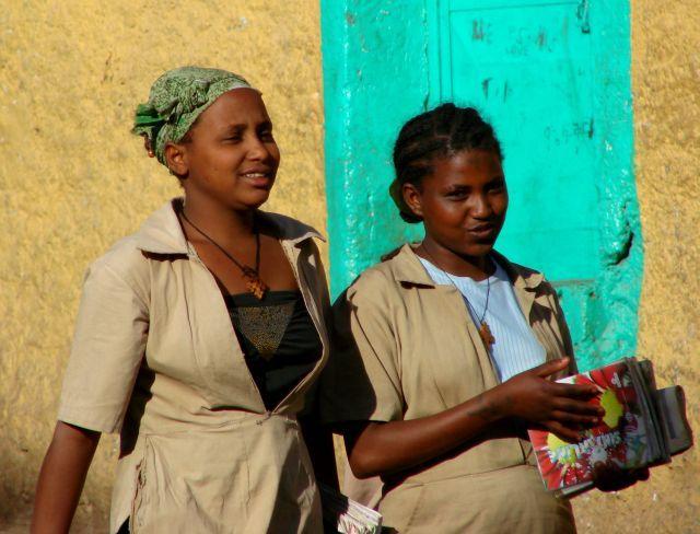 Zdjęcia: Etiopia, Etiopia, Studentki, ETIOPIA