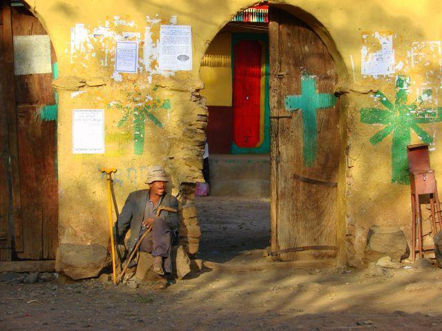 Zdjęcia: Gandor, Gandor, Pod  kościołem, ETIOPIA