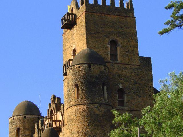 Zdjęcia: Gandor, Gandor, Zamek, ETIOPIA