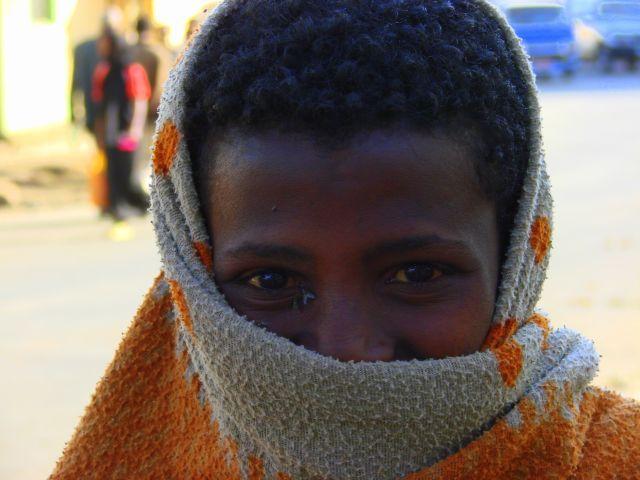 Zdjęcia: Gandor, Gandor, Mucha w oku , ETIOPIA