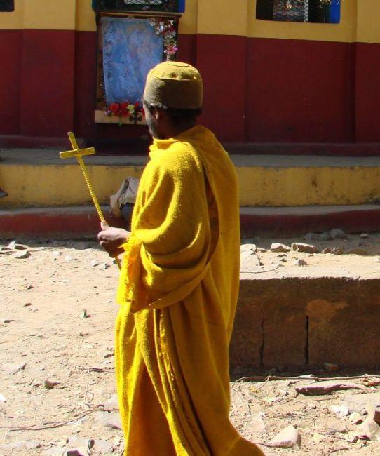 Zdjęcia: Gandor, Gandor, Ksiądz, ETIOPIA