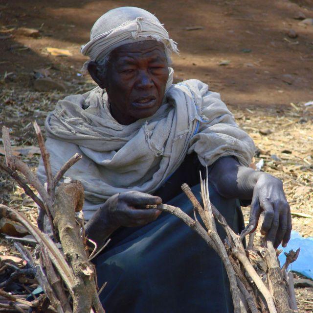 Zdjęcia: Gandor, Gandor, Sprzedawca drewna , ETIOPIA