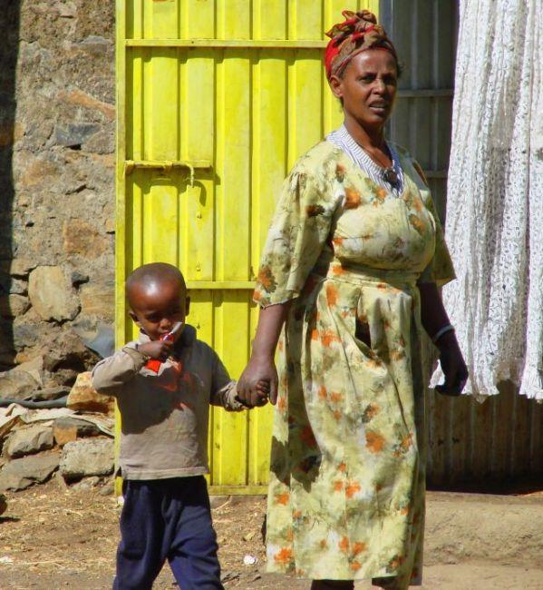 Zdjęcia: Gandor, Gandor, Szczoteczkę  do  zębów  ma  , ETIOPIA