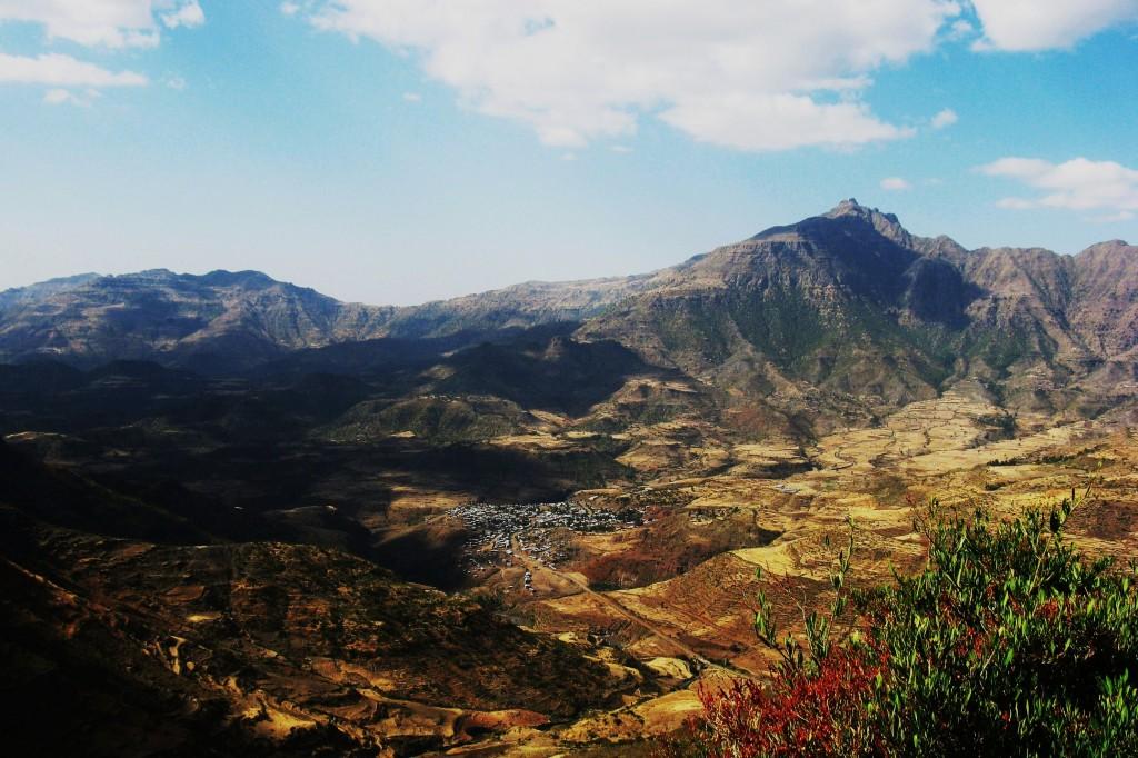 Zdjęcia: Na skalistych drogach parku, Semien Park, Góry, ETIOPIA