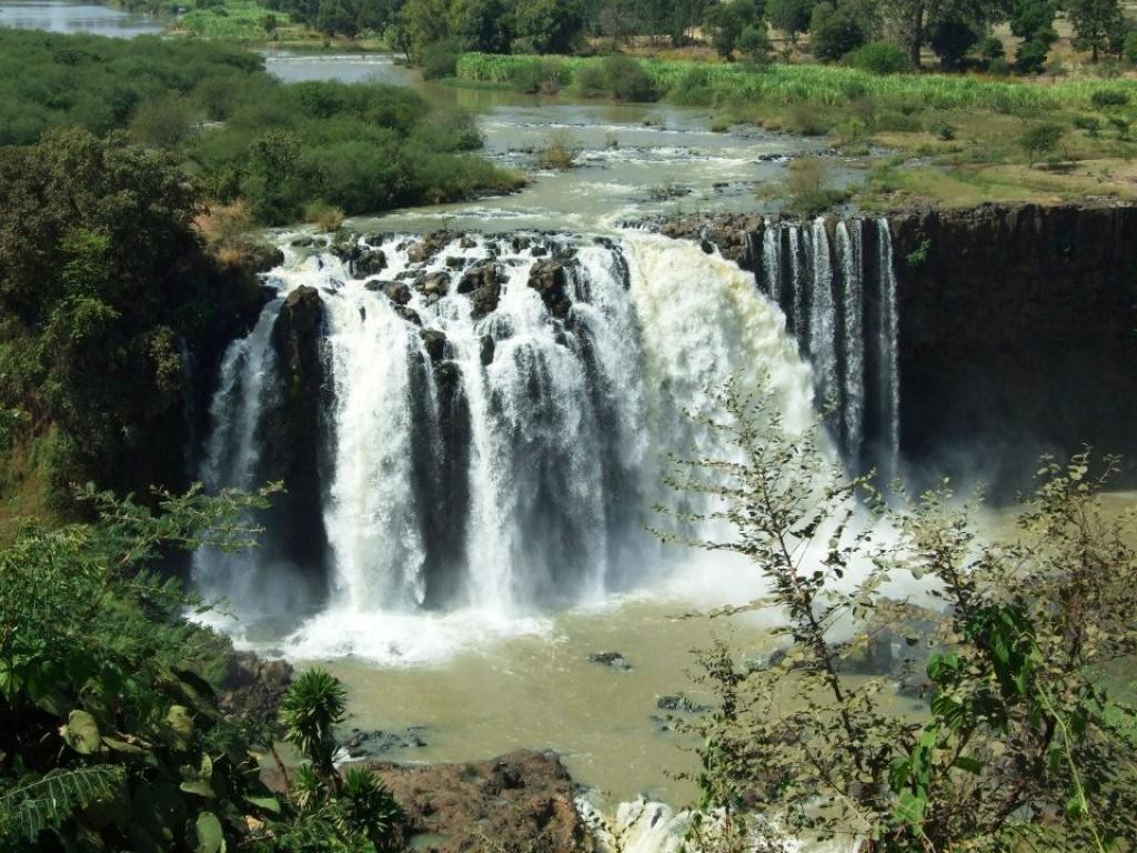 Zdjęcia: Blue Nile Falls, Bahar Dar, Wodospady, ETIOPIA