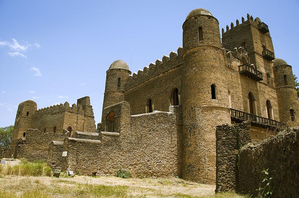 Zdjęcia: Gonder, zamki Gonderu, ETIOPIA