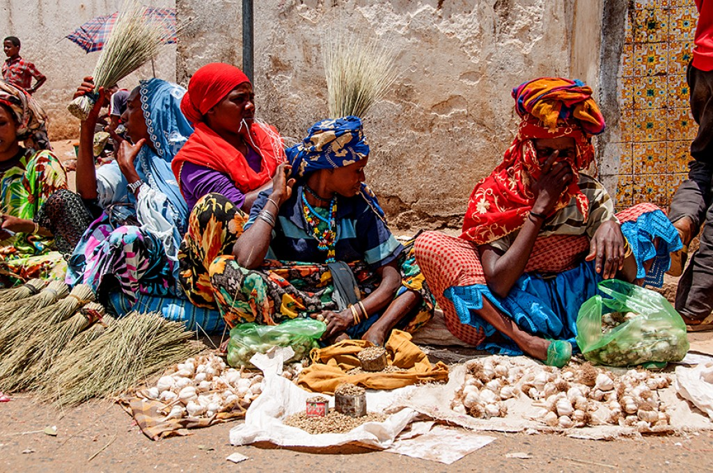 Zdjęcia: Harer, barwy Hareru, ETIOPIA