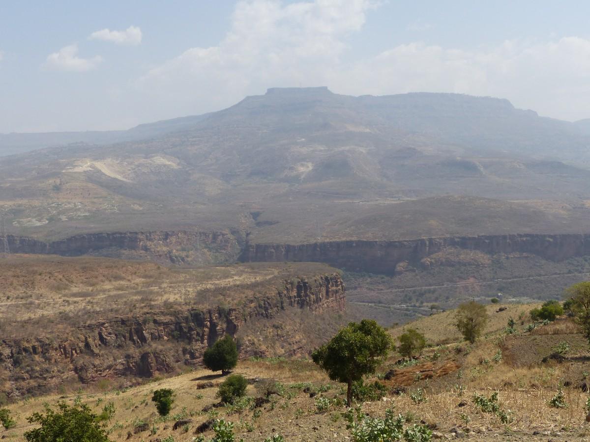 Zdjęcia: Wąwóz błękitnego Nilu, Północ, W drodze do Addis Ababby, ETIOPIA
