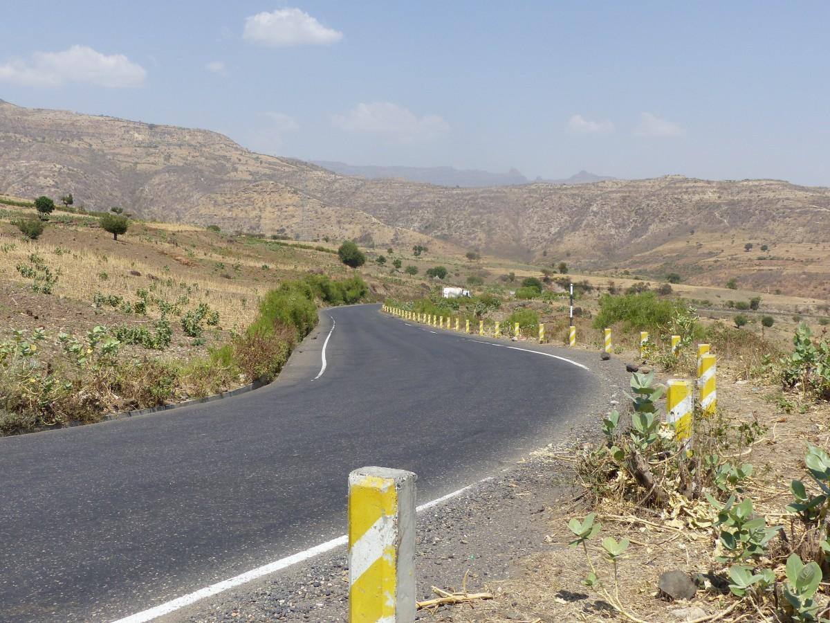 Zdjęcia: Wąwóz błękitnego Nilu, Północ, Droga przez Wąwóz Błekitnego NIlu, ETIOPIA