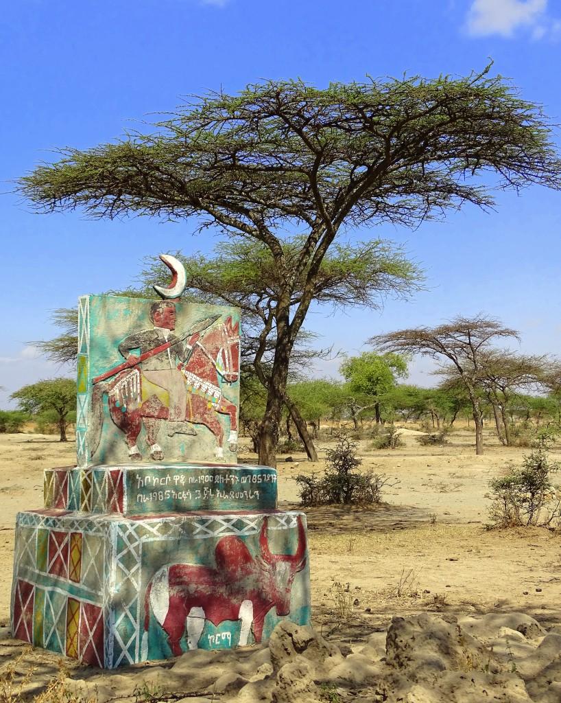 Zdjęcia: środkowa Etiopia, Przydrożny..., ETIOPIA