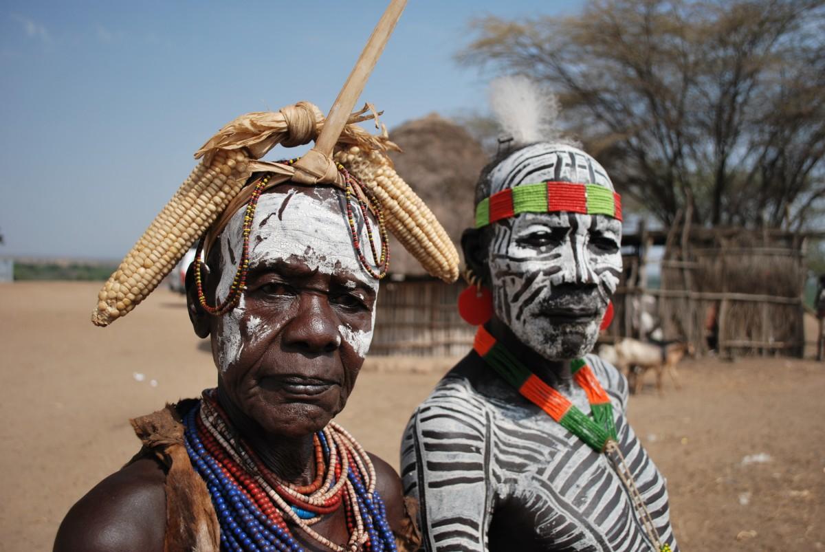 Zdjęcia: Dolina Omo, Etiopia Południowa, Popkorn, ETIOPIA