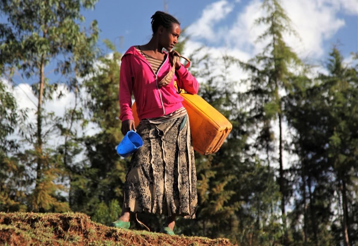 Zdjęcia: Adadi, Arba Minch, Po wodę, ETIOPIA