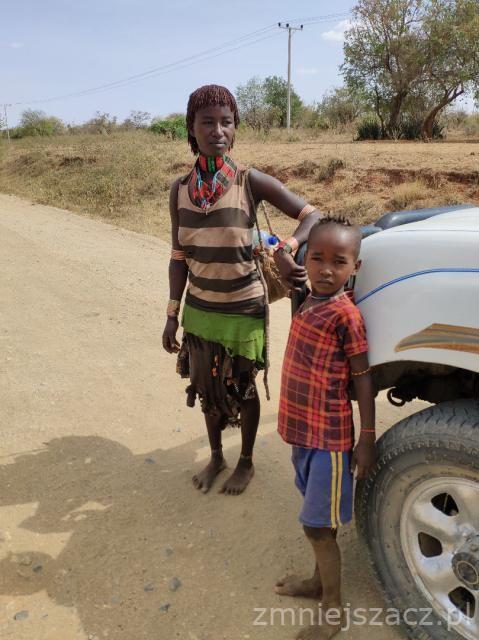 Zdjęcia: Turmi, Dolina Omo, W drodze do Turmi, ETIOPIA