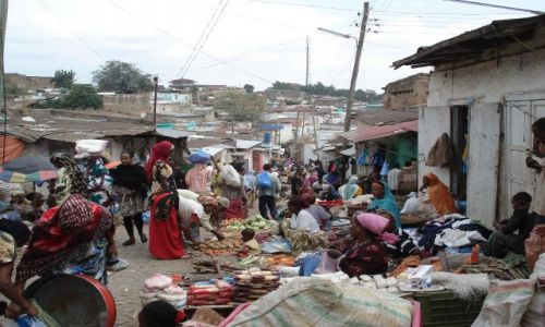 Zdjecie ETIOPIA / Harari / Harar / Chaos