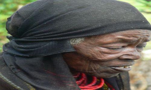 Zdjecie ETIOPIA / - / gdzieś na wsi / Etiopska babcia