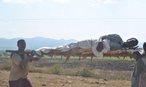 Zdjecie ETIOPIA / Srd Etiopia  / Srd Etiopia / Karetka pogotowia po etiopsku
