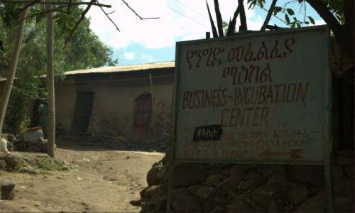 Zdjecie ETIOPIA / Płn Etiopia  / Lallibella / Centrum biznesu