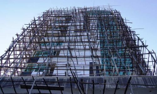 Zdjęcie ETIOPIA / Oromia / Addis Abeba / Naturalna selekcja Budowniczych??