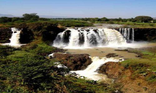 Zdjecie ETIOPIA / Amhara / Tissisat / Wodospady Błękitnego Nilu