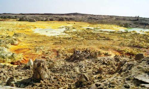 ETIOPIA / Afar / Dallol / Krater Dallol