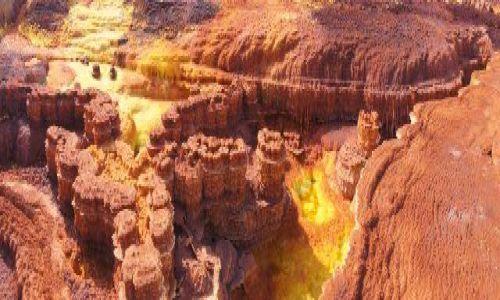 ETIOPIA / Afar / Dallol / Solne wąwozy