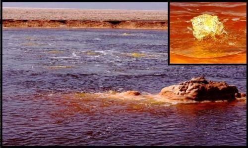 ETIOPIA / Afar / Dallol  / Wrzące jeziorko