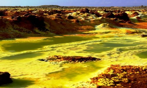 Zdjecie ETIOPIA / Afar / Dallol / Dallol