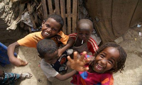 Zdjecie ETIOPIA / - / Denakilia / Dzieciaki z denakilii