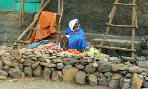 Zdjęcie ETIOPIA / Gondar / Gondar / Ulice Gondar