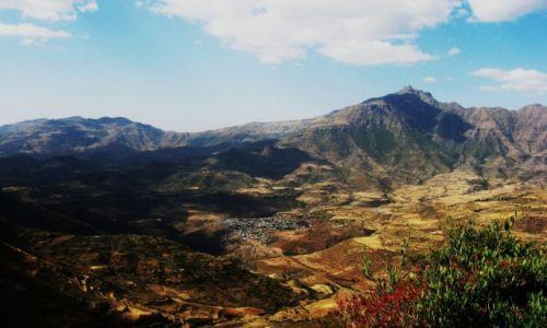 Zdjecie ETIOPIA / Semien Park / Na skalistych drogach parku / Góry