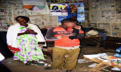 Zdjęcie ETIOPIA / Wielki Rów Afrykański / We wnętrzu domu / W domu