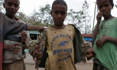 Zdjecie ETIOPIA / okolice Axum / Etiopia / Dzieci