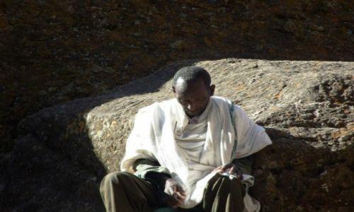Zdjecie ETIOPIA / Lalibela / Lalibela / Medrzec