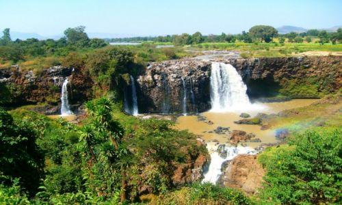 Zdjecie ETIOPIA / Amhara / Bahir Dar / Wodospad