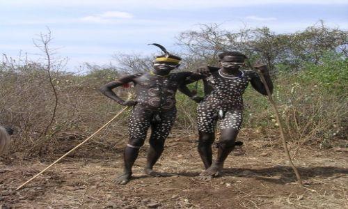 Zdjęcie ETIOPIA / - / Etiopia południowa / full make up