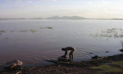 Zdjecie ETIOPIA / - / południowa Etiopia / nad jeziorem