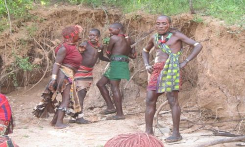 Zdjecie ETIOPIA / AFRYKA / DOLINA OMO / ETIOPIA - DOLINA OMO