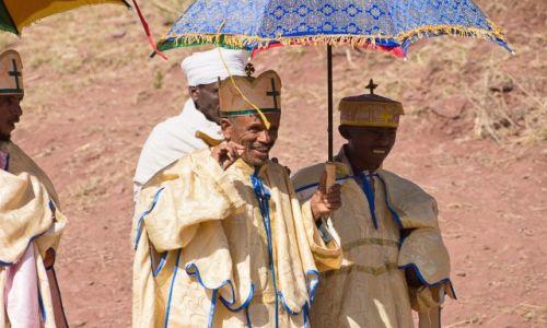 Zdjecie ETIOPIA / Lalibela / Lalibela / Zawsze uśmiechnięci