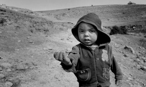 Zdjecie ETIOPIA / Amara / Simien Mountains / One birr boy